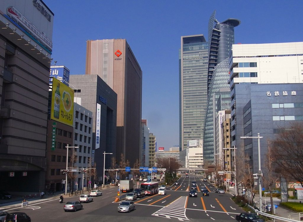 nagoya station area