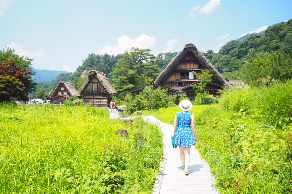shirakawago in summer day trip from nagoya