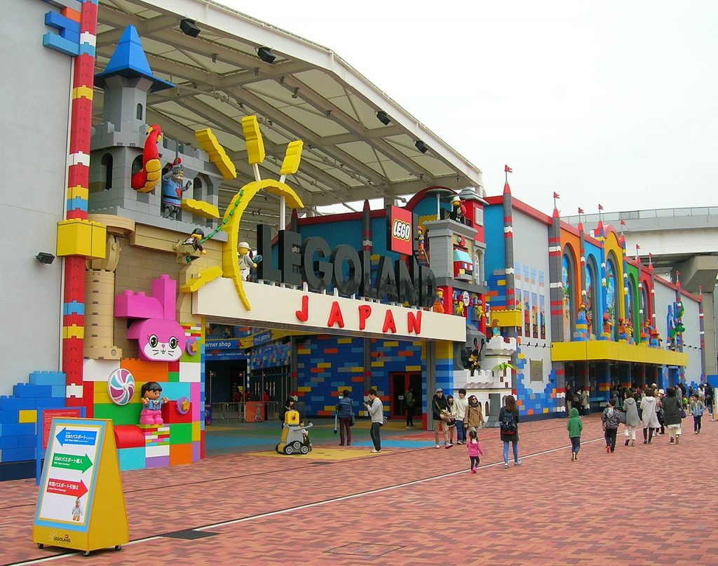 legoland japan in nagoya