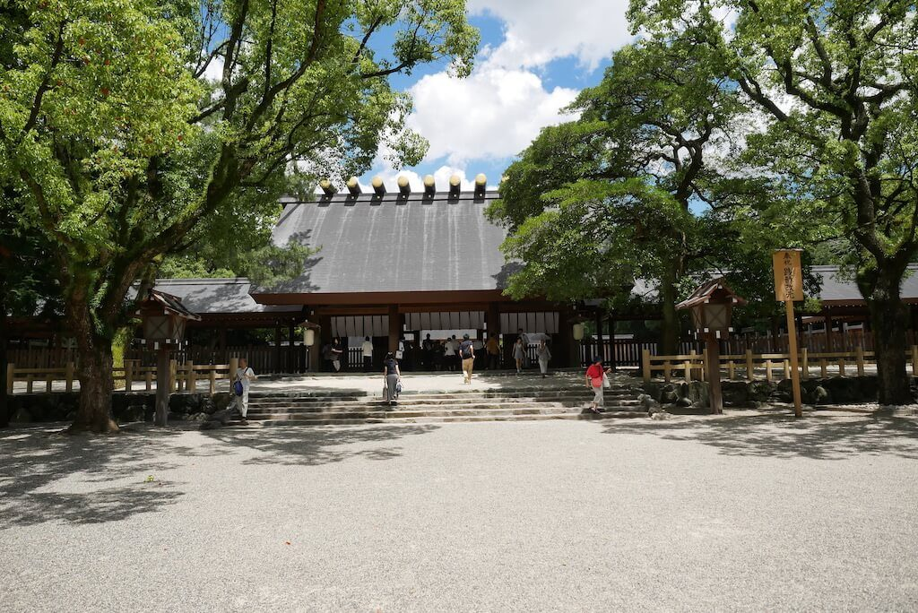 Atsuta Jingu Main Shrine Nagoya