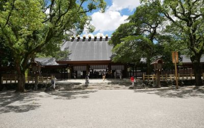 Explore Atsuta Jingu the Most Sacred Place in Nagoya