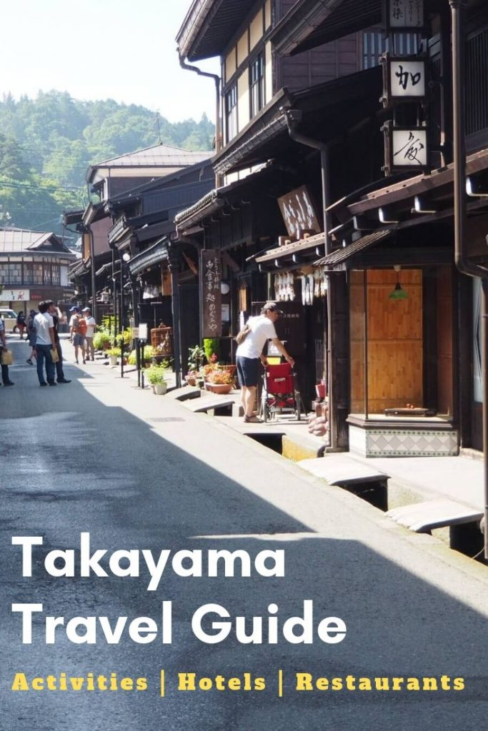 Things to do in Takayama. A full Takayama Travel Guide including the best Restaurants in Takayama, where to stay in Takayama and how to get to Takayama. Find also the best tours to Takayama and day trips from Takayama.