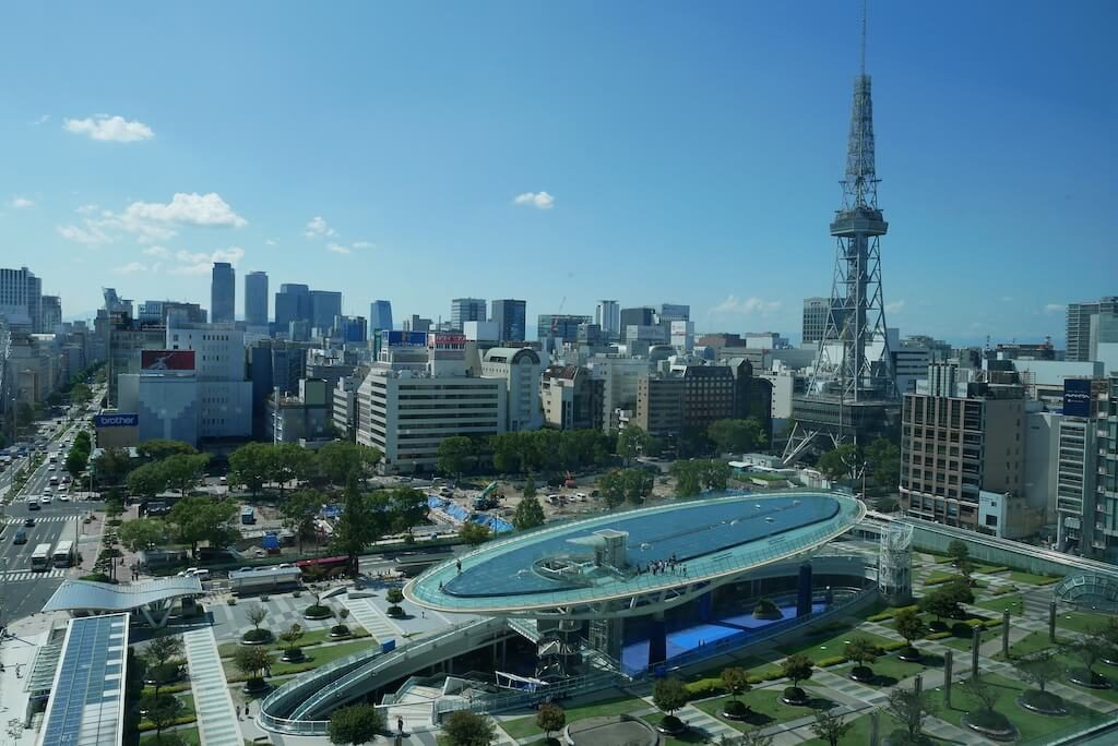 Sakae from Above Nagoya
