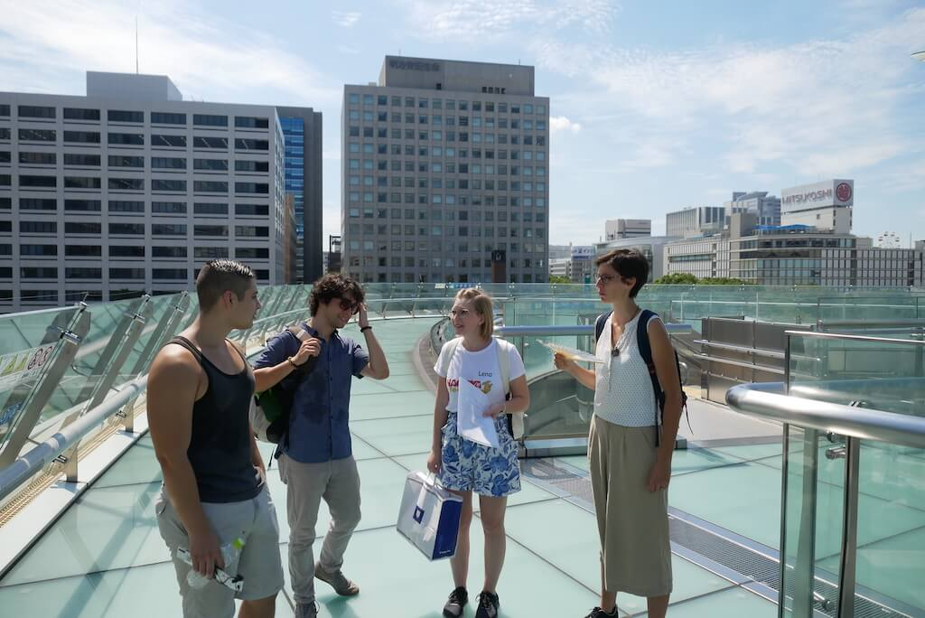Nagoya Food Tour on Oasis 21