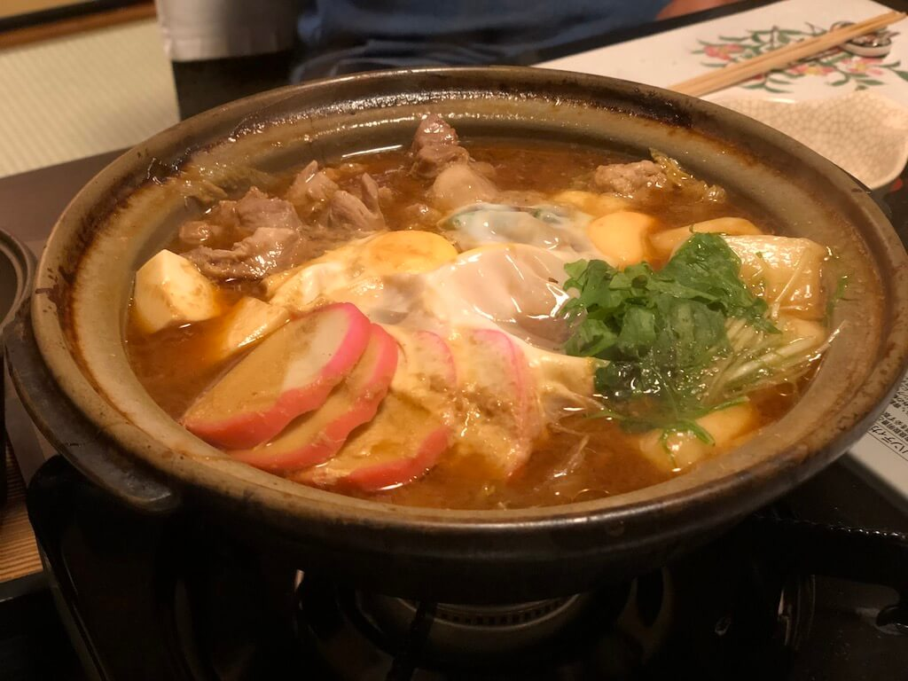 Nagoya Cochin Miso Nabe at Torigin